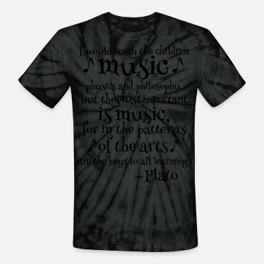 Plato Music Philosophy Quote Men's Premium T-Shirt | Spreadshirt
