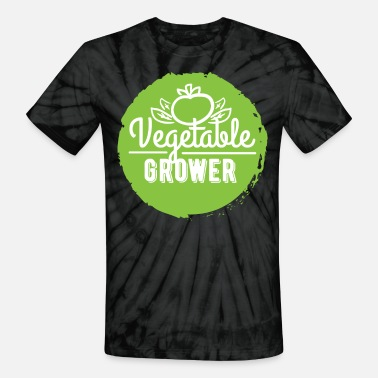 Vegetable Grower - Vegetable Grower - Unisex Tie Dye T-Shirt