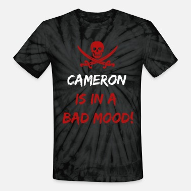 Cameron Who is in a bad mood Cameron - Unisex Tie Dye T-Shirt
