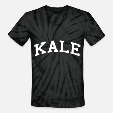 Kale KALE Vegan Superfood Gym Veg Gift - Unisex Tie Dye T-Shirt