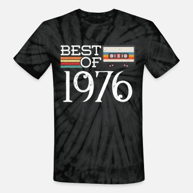 44th Birthday Gifts Presents Year 1976 Unisex Ringer Vintage T-Shirt Aged To Old