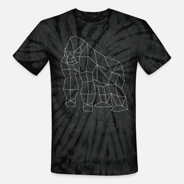 Constellation Gorilla Constellation - Unisex Tie Dye T-Shirt
