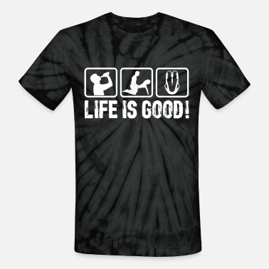 Playstation Life is so good! - Unisex Tie Dye T-Shirt