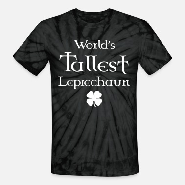 Dublin World's Tallest Leprechaun - Unisex Tie Dye T-Shirt