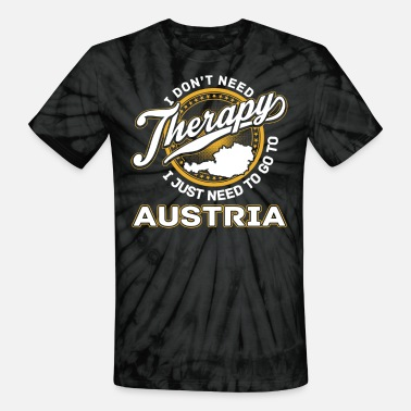 Huettenzauber Austria - I just need to go to austria - Unisex Tie Dye T-Shirt
