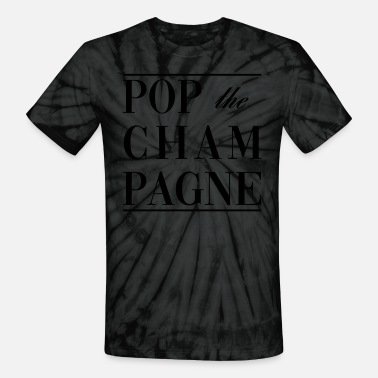 Topselling THE FASHION TEE - POP THE CHAMPAGNE TOPSELLER - Unisex Tie Dye T-Shirt