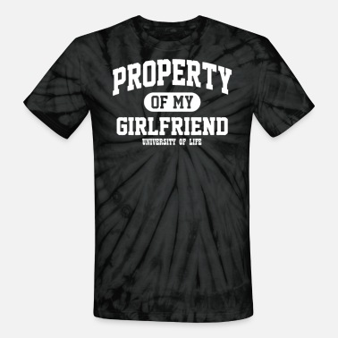 Property Of My Girlfriend PROPERTY OF MY GIRLFRIEND - Unisex Tie Dye T-Shirt