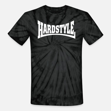 Hard Bass Hardstyle Hard Bass - Unisex Tie Dye T-Shirt