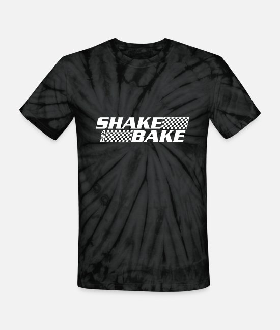 Movie T-Shirts - SHAKE AND BAKE - Unisex Tie Dye T-Shirt spider black
