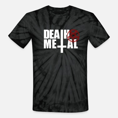Cannibal Death metal! - Unisex Tie Dye T-Shirt