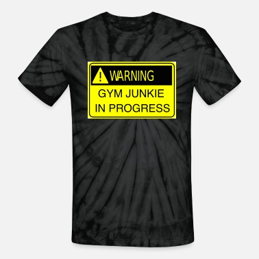 Warning Sign warning signs - Unisex Tie Dye T-Shirt