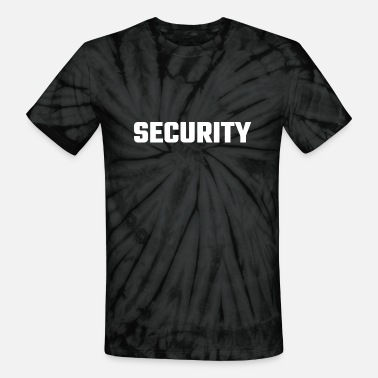 Bouncer Security - Security - Unisex Tie Dye T-Shirt