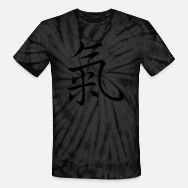 Life Energy Life Energy in japanese, chinese Characters - Unisex Tie Dye T-Shirt