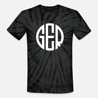 Monogram MONOGRAM CIRCLE GERMANY - Unisex Tie Dye T-Shirt