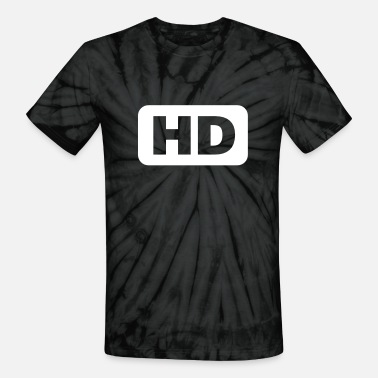 Hd HD icon - Unisex Tie Dye T-Shirt