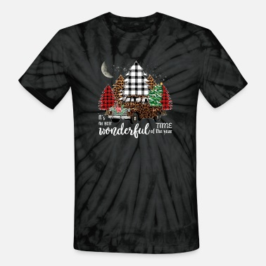 Wonderful It s The Most Wonderful Time of The Year - Unisex Tie Dye T-Shirt