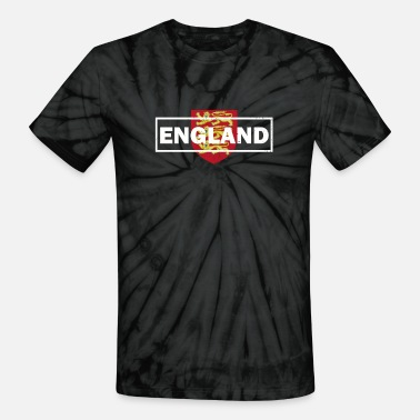 English Lions England English Lion Soccer Fan - Unisex Tie Dye T-Shirt