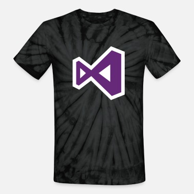Visualization Visual Studio - Unisex Tie Dye T-Shirt