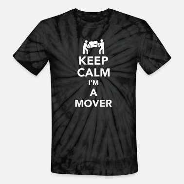 Movers Mover - Unisex Tie Dye T-Shirt