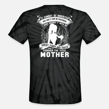 Usc mother usc new mother fairy godmother motherly l - Unisex Tie Dye T-Shirt