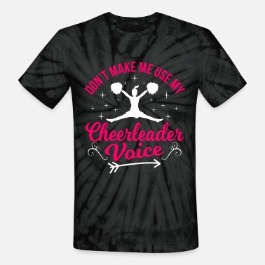 Chant Cheerleading Cheer Dance Gift Idea - Unisex Tie Dye T-Shirt