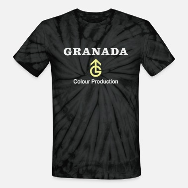 Television Granada TV logo - from the North - Unisex Tie Dye T-Shirt