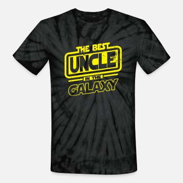 Uncle Uncle - The Best Uncle In The Galaxy - Unisex Tie Dye T-Shirt