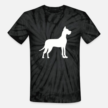 Great Danes Great Dane - Unisex Tie Dye T-Shirt
