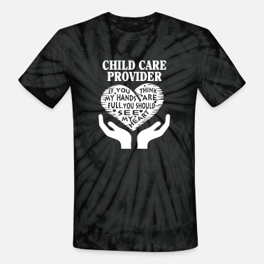 Care Child care provider - You should see my heart tee - Unisex Tie Dye T-Shirt