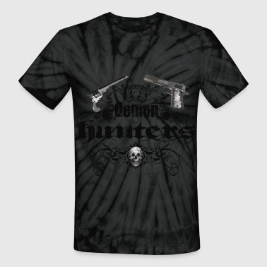 demon hunters - Unisex Tie Dye T-Shirt