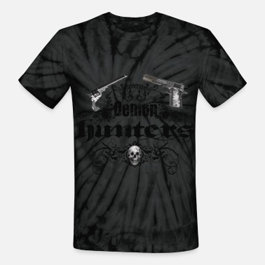 Devil Hunter demon hunters - Unisex Tie Dye T-Shirt