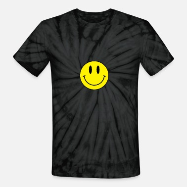 Acid Techno smiley acid face - Unisex Tie Dye T-Shirt