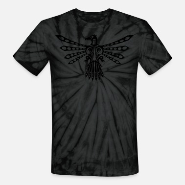 Tribal Birds Tribal thunder bird 1 - Unisex Tie Dye T-Shirt