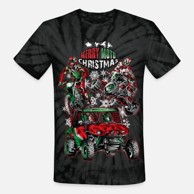 Dune Off-Road Christmas Bundle - Unisex Tie Dye T-Shirt