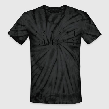 Astral Projection Astral Projection T Shirts - Black - Unisex Tie Dye T-Shirt