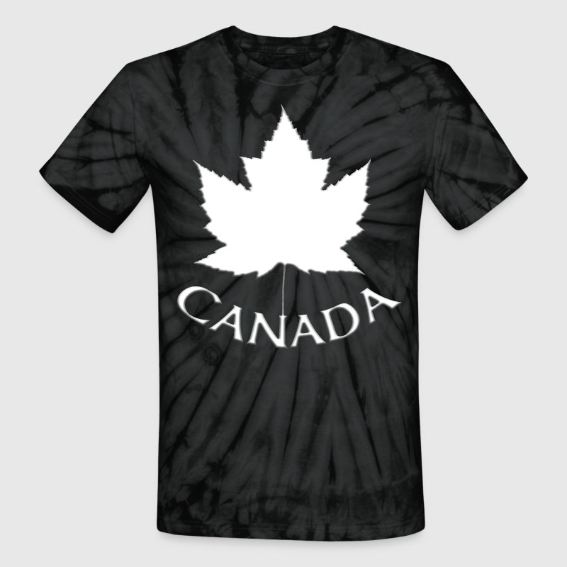 Canada Souvenirs Gifts Canada T-shirts - Unisex Tie Dye T-Shirt