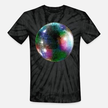 ffe1023ff Mirror Disco Ball Mirror Ball - Unisex Tie Dye T-Shirt