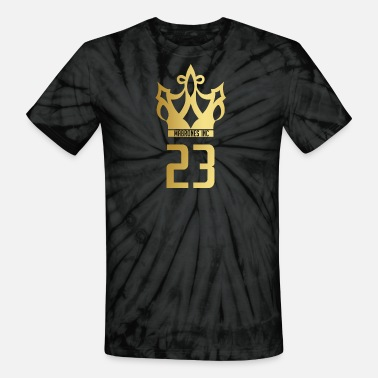 22908a35e25a Lebron James Mabrones Inc Gold Crown - Unisex Tie Dye T-Shirt
