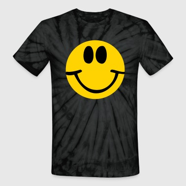 Smiley Face - Unisex Tie Dye T-Shirt