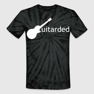 Guitarded white - Unisex Tie Dye T-Shirt