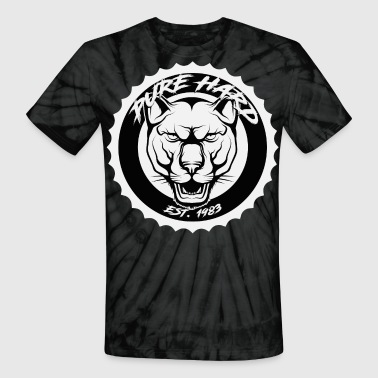 phd logo black and white - Unisex Tie Dye T-Shirt