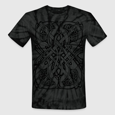 Tribal Tattoo - Unisex Tie Dye T-Shirt