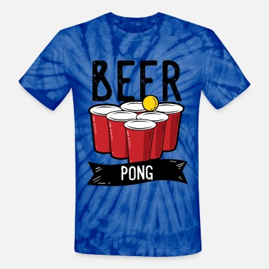 Drinking Contest Beer Pong Team Drinking Game Friends - Unisex Tie Dye T-Shirt
