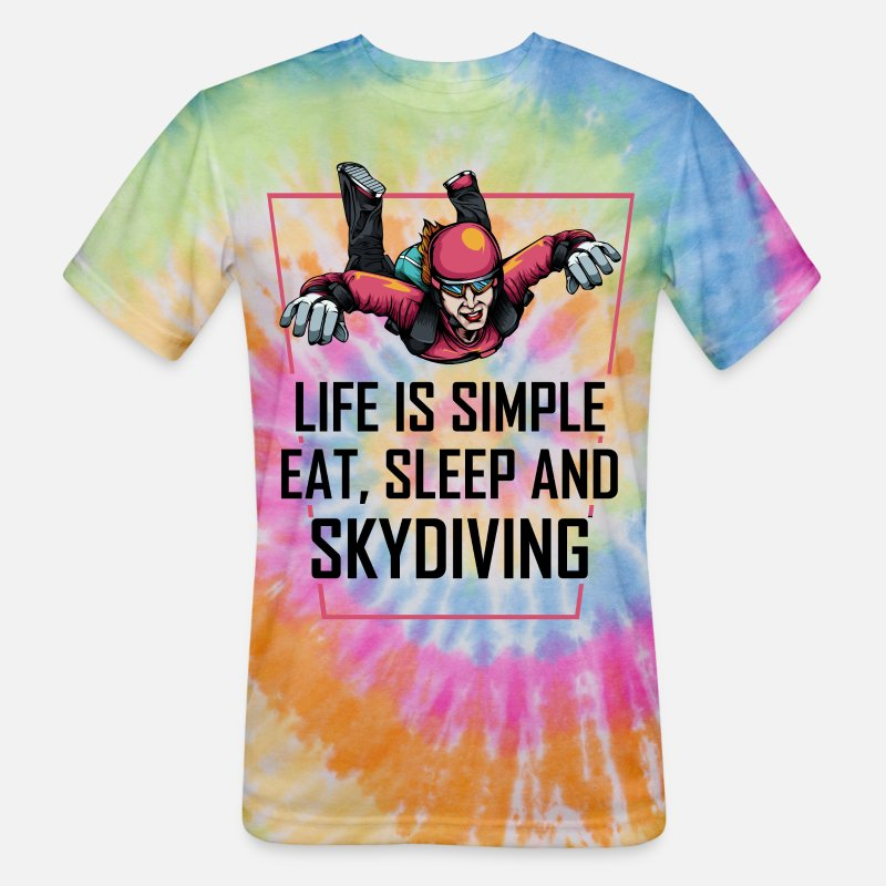 SKYDIVE EAT SLEEP DRINK SKYDIVE PERSONALISED T SHIRT