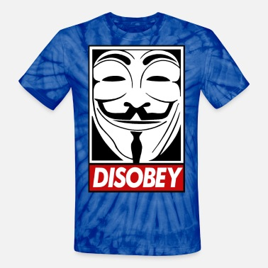 Disobey disobey - Unisex Tie Dye T-Shirt