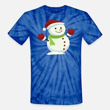 Snowman Playing a Violin Youth T-Shirt Merry Christmas Let It Snow Kids Tee