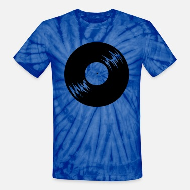 Phonograph Phonograph record - Unisex Tie Dye T-Shirt