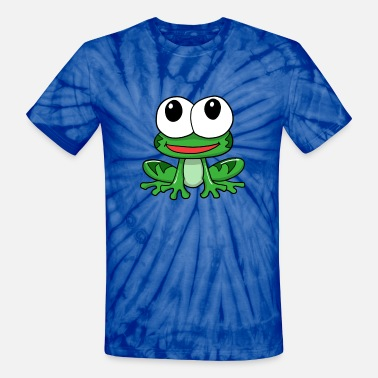 Frog Prince frog prince - Unisex Tie Dye T-Shirt