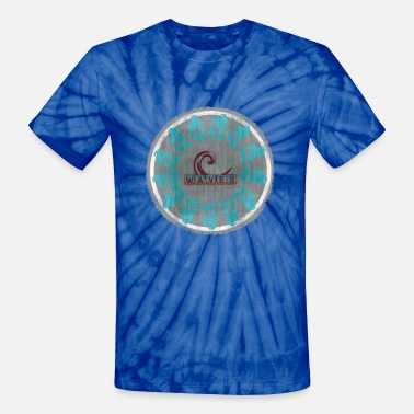 Waves waves - Unisex Tie Dye T-Shirt