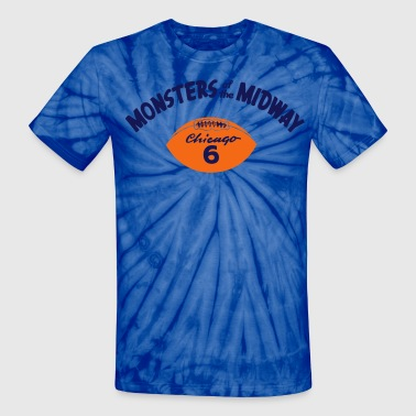 MONSTERS OF THE MIDWAY - Unisex Tie Dye T-Shirt